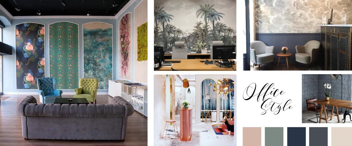 Wallcovering Office Wallpaper Inspiration