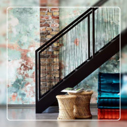 Abstract Wallcovering Style