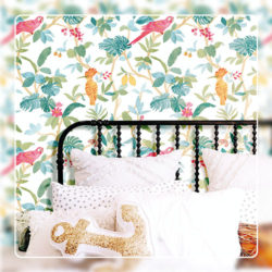 Birds Wallcovering Style