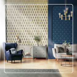 Damask Wallcovering Styles
