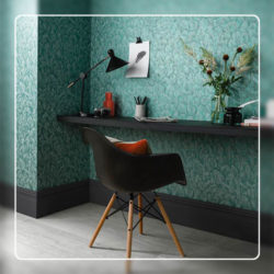 Feather Wallcovering Style