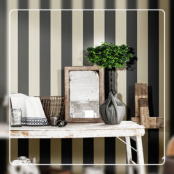 Striped Wallcovering Style