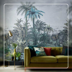 Trees Wallcovering Style