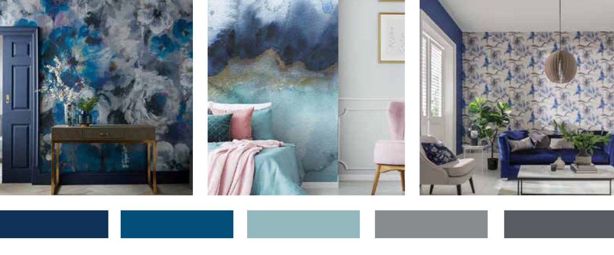 Wallcovering 2020 Pantone Colour of the year blog