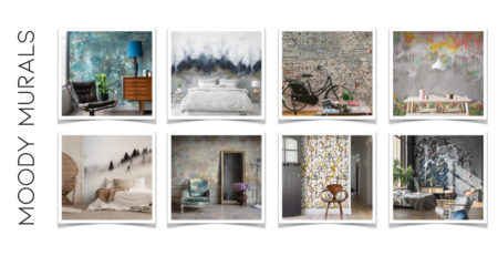 Moody Murals Magma Wallpaper Collection