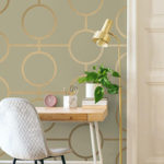 Add colour to your office with wallpaper to revamp your office space in South Africa